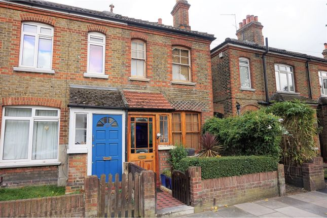 Thumbnail End terrace house for sale in Manor Grove, Richmond