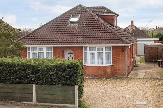 Thumbnail Detached bungalow for sale in Calmore Road, Totton, Southampton