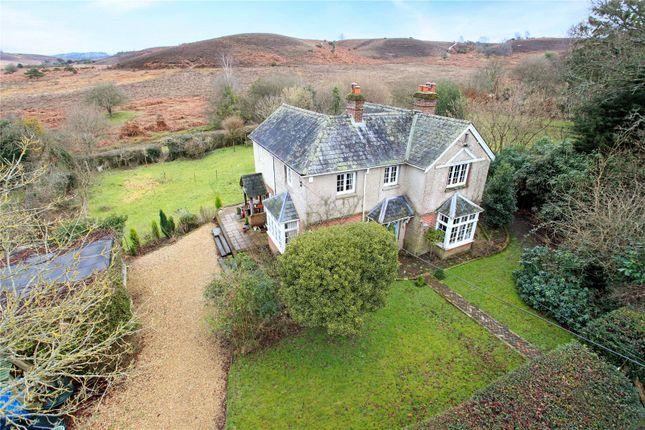 Thumbnail Detached house for sale in Furze Hill, Fordingbridge, Hampshire