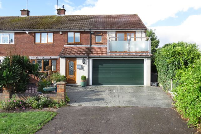 Thumbnail Semi-detached house for sale in Castle Hill Road, Totternhoe, Dunstable