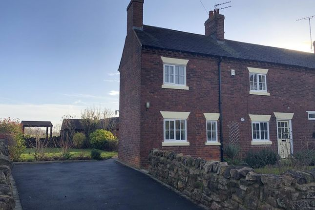 Thumbnail Semi-detached house to rent in 27 Ashby Road, Ticknall, Derbyshire