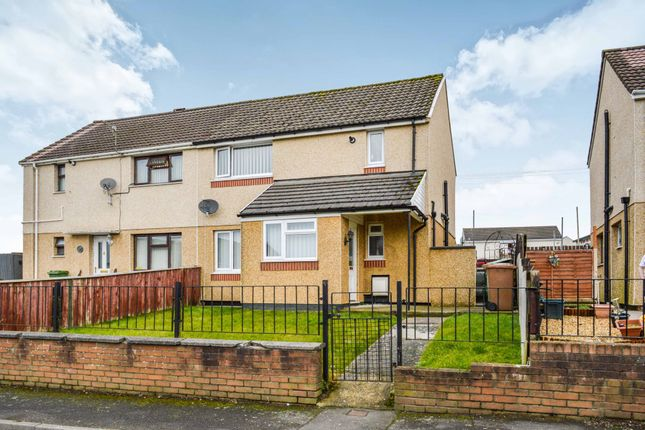 Thumbnail Semi-detached house for sale in Claerwen, Gelligaer, Hengoed