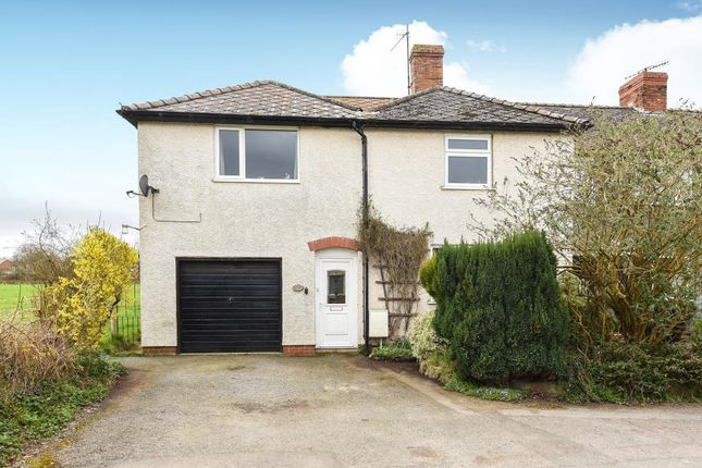 Thumbnail Semi-detached house for sale in Kington, Herefordshire