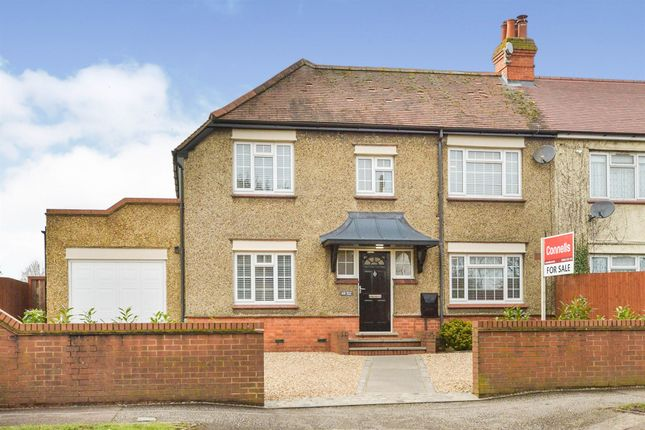 Thumbnail Semi-detached house for sale in Manor Road, Bletchley, Milton Keynes