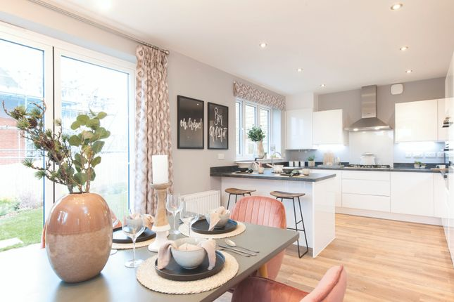 Thumbnail Detached house for sale in Bunker Square, Exeter, Devon