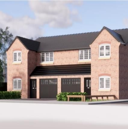Thumbnail Semi-detached house for sale in Mayfield Gardens, Mayfield Close, Chaddesden, Derby