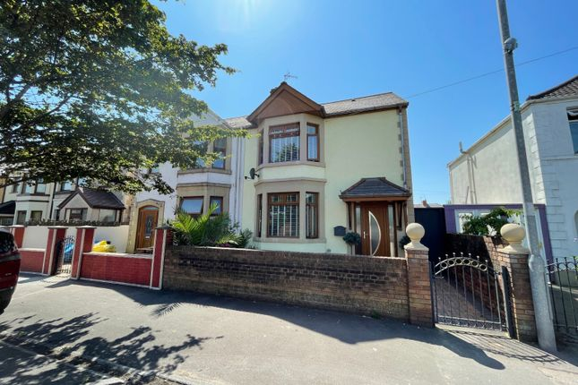Thumbnail Semi-detached house for sale in Newbridge Road, Port Talbot