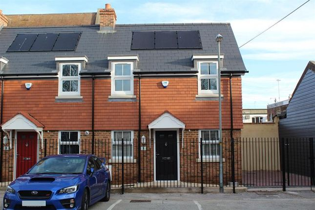 Thumbnail End terrace house for sale in Bowling Green Alley, Poole