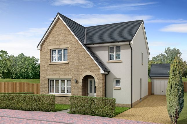 "Thumbnail Detached house for sale in ""Hawthorne"" at West Road, Haddington"