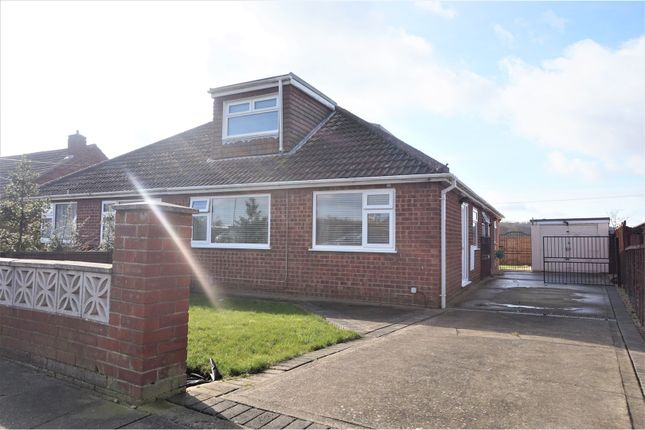 Thumbnail Semi-detached bungalow for sale in Fallowfield Road, Scartho