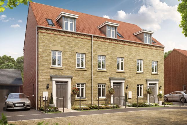 "Thumbnail End terrace house for sale in ""Greenwood"" at Oxford Road, Calne"
