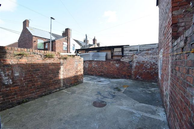 Rear Yard. of Parliament Road, Middlesbrough TS1