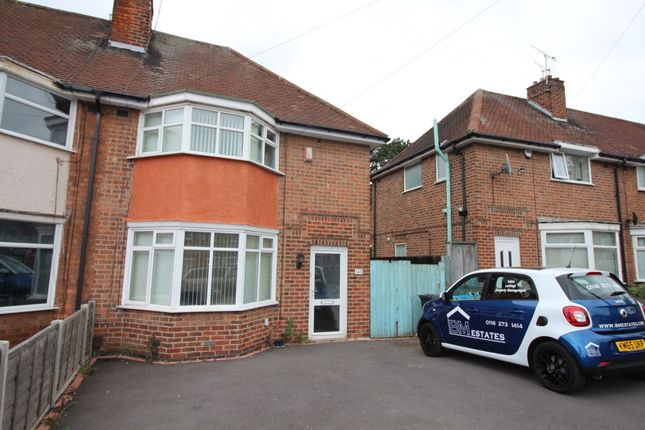 Thumbnail Semi-detached house to rent in Wicklow Drive, Leicester