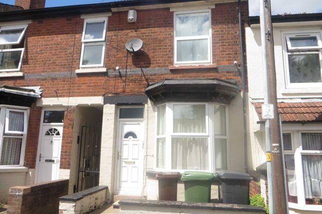 Thumbnail Terraced house to rent in Aston Street, Wolverhampton