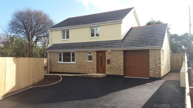 Thumbnail Detached house for sale in Penwithick, St. Austell, Cornwall