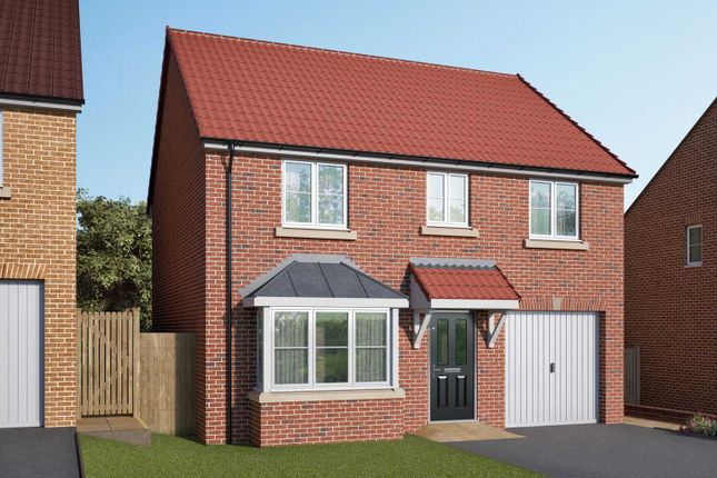 "Thumbnail Detached house for sale in ""The Barlow"" at Stoney Haggs Road, Scarborough"