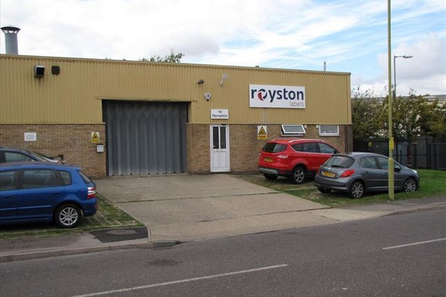 Thumbnail Light industrial for sale in Unit 18, Orchard Road, Royston, Herts