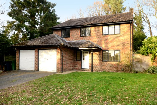 Thumbnail Detached house to rent in Merrywood Park, Camberley
