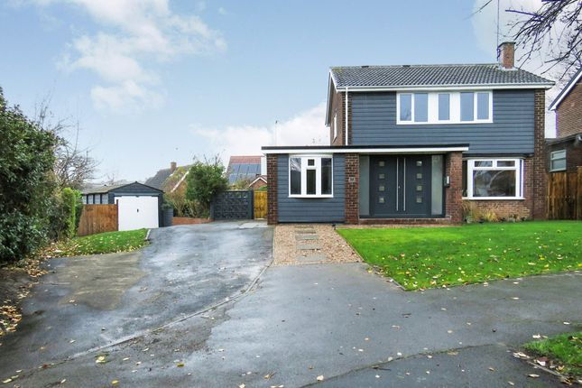 Thumbnail Detached house for sale in Mill Hill Lane, Burton-On-Trent
