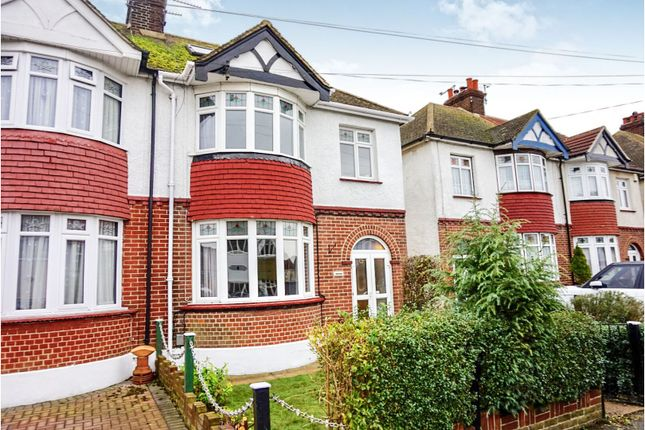 Thumbnail Semi-detached house for sale in Abbey Road, Gillingham