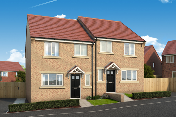 "Thumbnail Property for sale in ""The Larch At The Garth, West Denton"" at Dunblane Crescent, West Denton, Newcastle Upon Tyne"