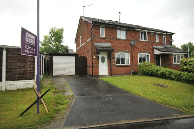 Thumbnail Semi-detached house for sale in Brentwood Drive, Farnworth, Bolton, Lancashire