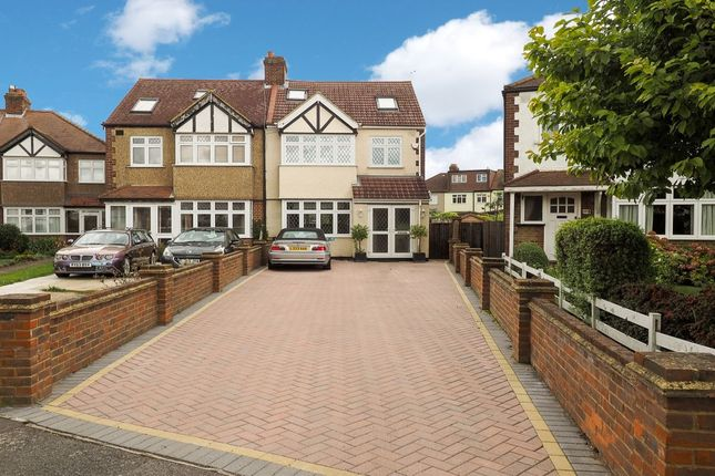 Thumbnail Semi-detached house for sale in Northfield Crescent, Cheam, Sutton
