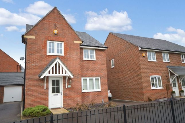 Thumbnail Detached house for sale in Sunderland Close, Church Gresley, Swadlincote