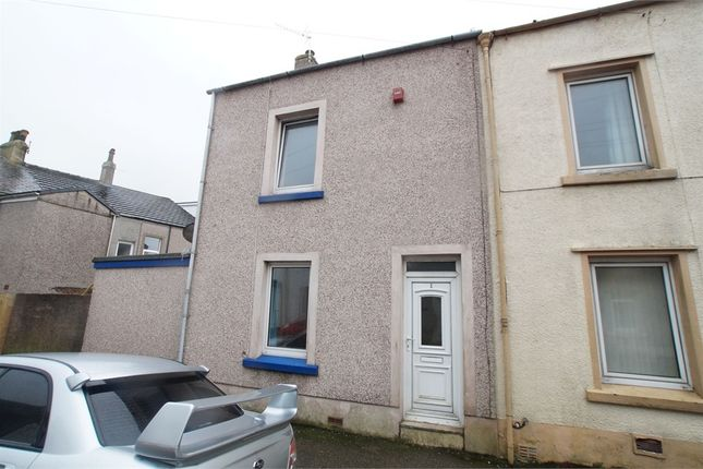 Thumbnail End terrace house for sale in Penzance Street, Moor Row, Cumbria