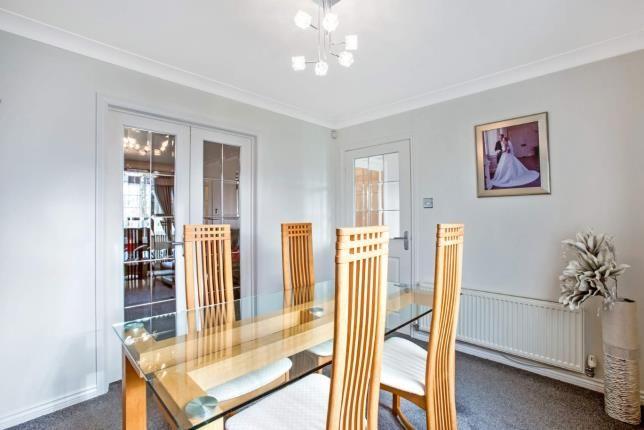 Dining Room of Berryhill Crescent, Wishaw, North Lanarkshire ML2