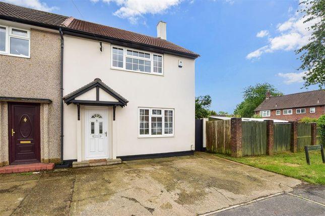 Thumbnail 2 bedroom end terrace house for sale in Preston Lane, Tadworth, Surrey