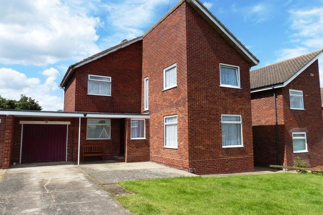 Thumbnail Detached house for sale in Photinia Close, Branston, Lincoln