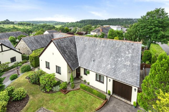 Thumbnail Detached bungalow for sale in Orchard Close, St. Mellion, Saltash, Cornwall