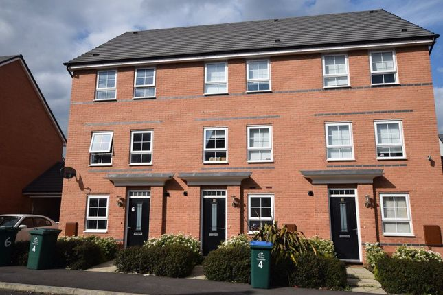 Thumbnail Terraced house to rent in Canal View, City Wharf, Coventry
