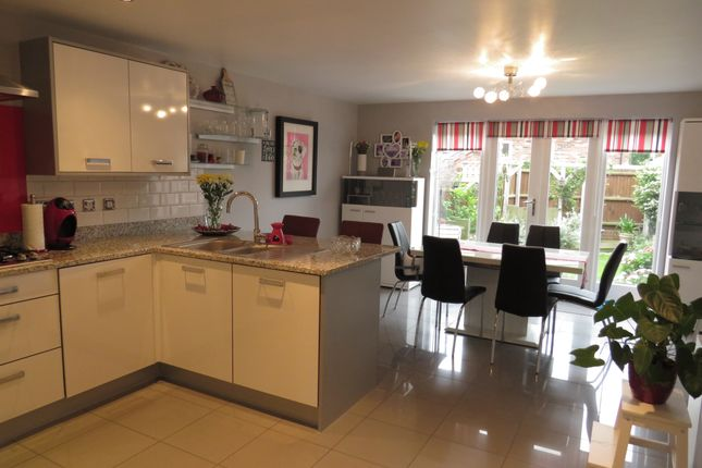 Thumbnail Town house for sale in Horseshoe Crescent, Great Barr, Birmingham
