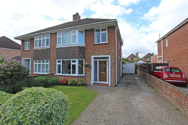 Thumbnail Semi-detached house for sale in Lackford Avenue, Totton, Southampton