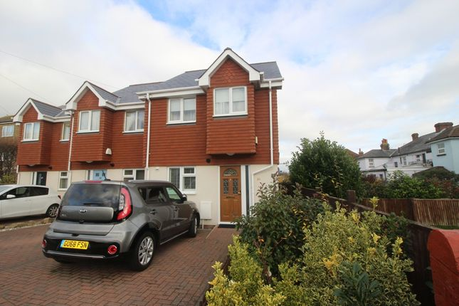 Thumbnail End terrace house for sale in Finmere Road, Roselands, Eastbourne