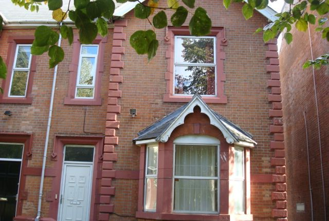 Thumbnail Semi-detached house to rent in Elm Avenue, Mapperley Park, Nottingham