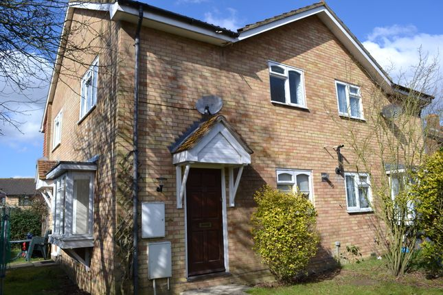 Thumbnail Semi-detached house to rent in Longstock Close, Chineham