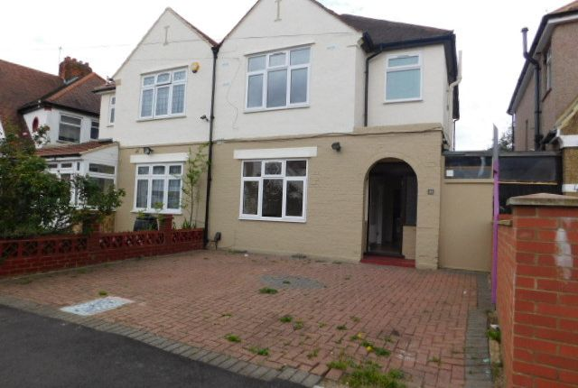 Semi-detached house for sale in Chatsworth Crescent, Hounslow, Greater London