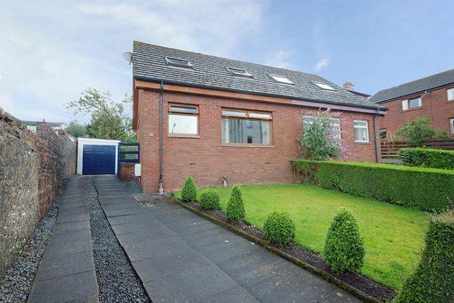 Thumbnail Semi-detached bungalow for sale in Innes Park Road, Skelmorlie, North Ayrshire
