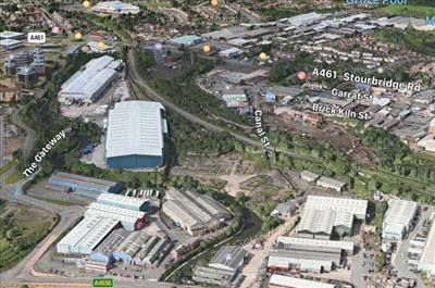 Land to let in Canal Street, Brierley Hill