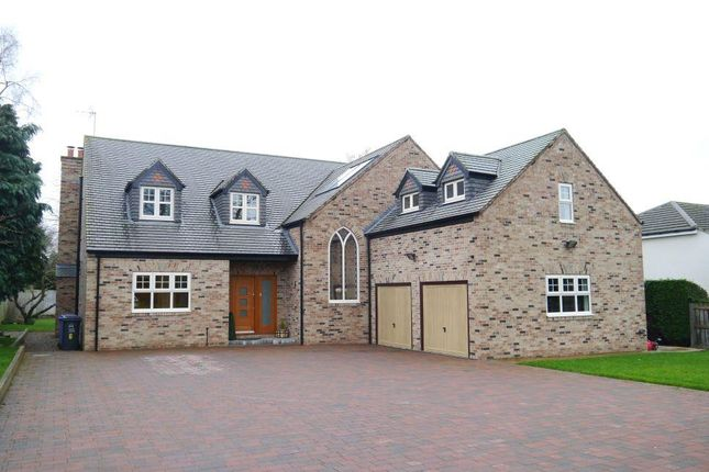 Thumbnail Detached house for sale in The Rise, Darras Hall, Newcastle Upon Tyne, Northumberland