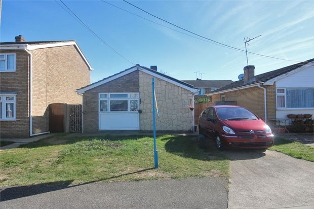 Thumbnail Detached bungalow for sale in Hallet Road, Canvey Island, Essex