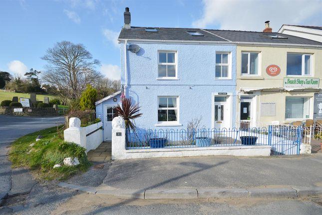 End terrace house for sale in The Green, Llansteffan, Carmarthen