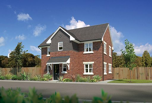 """Thumbnail Detached house for sale in """"Westwood Dg"""" At Bye Pass Road, Davenham, Northwich CW9, Davenham,"""