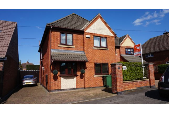 Thumbnail Detached house for sale in Brighton Avenue, Syston