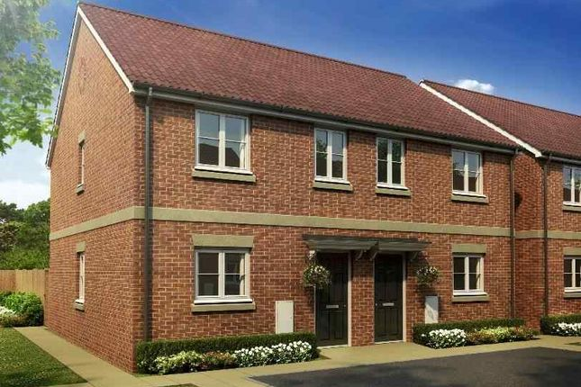 Thumbnail End terrace house for sale in Main Road, Barleythorpe, Oakham
