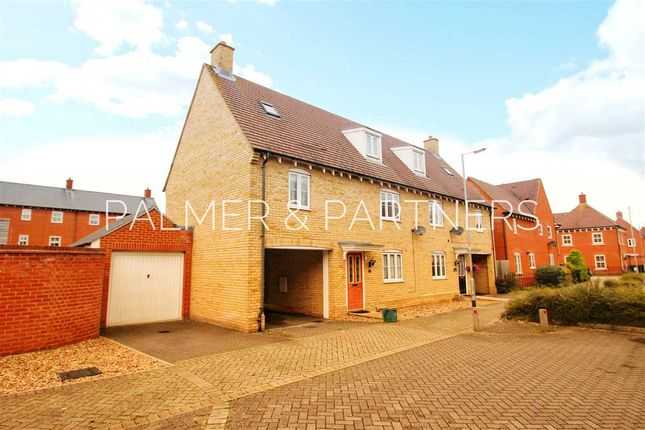 Thumbnail Semi-detached house for sale in Valentinus Crescent, Colchester