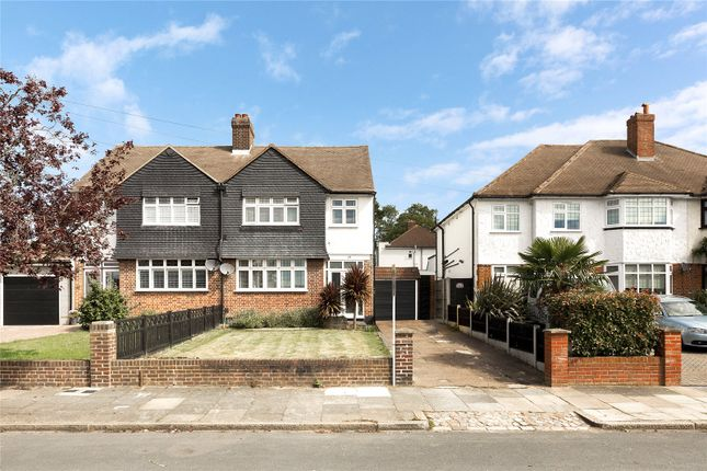 Thumbnail Semi-detached house for sale in Packmores Road, Eltham